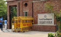 Students object to uploading of admit cards having personal information on DU website