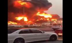 Video: After Beirut blast, massive fire breaks out in UAE's Ajman market