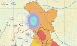Earthquake hits Jammu and Kashmir, says NCS.