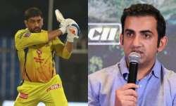 ms dhoni, gautam gambhir, ms dhoni number 7, ms dhoni batting, ms dhoni csk, ms dhoni rr, rr vs csk,
