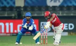 Delhi Capitals vs Kings XI Punjab Live Score IPL 2020: Mayank fifty keeps KXIP afloat