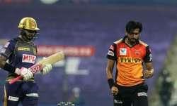 Live Score Kolkata Knight Riders vs SunRisers Hyderabad, IPL 2020: Narine departs early in 143 chase