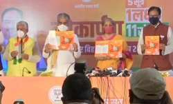 BJP releases manifesto for Bihar Assembly election 2020.