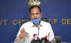 Delhi Health Minister Satyender Jain