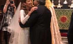 Harish salve wedding, harish salve caroline brossard wedding, harish salve wife, who is caroline bro