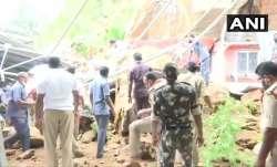 Major landslide near Kanaka Durga temple in Vijayawada, several feared trapped under debris