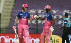 Live Score Rajasthan Royals vs Mumbai Indians IPL 2020: Stokes, Samson take charge in tall chase