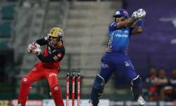 Live Score Mumbai Indians vs Royal Challengers Bangalore IPL 2020: Padikkal's stunner sends Tiwary b