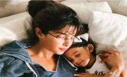 Priyanka Chopra says 'missing home' as she cuddles with her niece