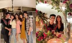 Inside Manish Malhotra's New Year dinner for Kriti Sanon, Jacqueline, Kartik Aaryan, Janhvi
