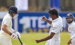 Leftarm spinner Lasith Embuldeniya dismissed double