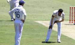 Navdeep Saini injured himself during day 1 of 4th Test