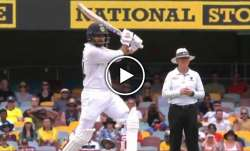 'Stand and deliver!': Shardul Thakur hammers Mitchell Starc for 'Steve Waugh-like' drive through cov