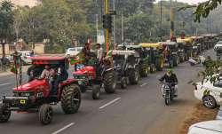 tractor march, farmers, Farm laws