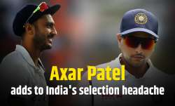 Axar Patel and Kuldeep Yadav