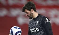 alisson becker, liverpool, liverpool goalkeeper, liverpool gk