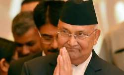 Nepal PM KP Sharma Oli