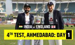 Live Score India vs England 4th Test Day 1: Follow ball-by-ball updates from IND vs ENG 4th Test Day