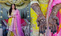 JP Dutta's daughter Nidhi set to wed director Binoy Gandhi today. See inside pics from celebrations