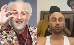 How Ranbir Kapoor turned into a quirky old man | See transformation pics