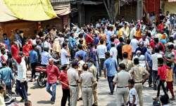traders, traders booked, norms violation, COVID19 protest, Maharashtra, coronavirus pandemic, mahara