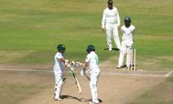 Pakistan won the first test by an innings in three days in Harare and is on the cusp of rounding off