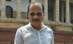 Congress Lok Sabha leader Adhir Ranjan Chowdhury