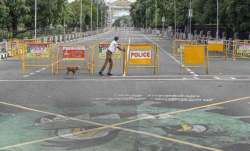 The week-long lockdown will be imposed from May 8 to 16