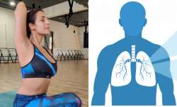 Malaika Arora shares test to check if your lungs are healthy while sitting at home