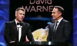 There were reports that Australia's premier batsman David Warner and commentator Michael Slater enga