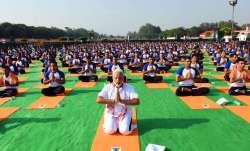 International Yoga Day: PM Modi to address programme at
