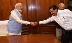 Former bureaucrat AK Sharma, also known to be PM Modi's