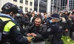 Sydney protests, Lockdown in Australia