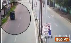 dhanbad judge accident video