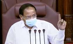 M Venkaiah Naidu, concern, whistling, Rajya Sabha, RS latest news, national news updates, VP Venkaia