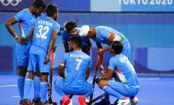 File photo of India hockey team.