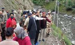 Himachal CM, Chief Minister Jairam Thakur, deployment, chopper, evacuation, landslide HIMACHAL lates