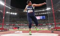Discus thrower Kamalpreet Kaur