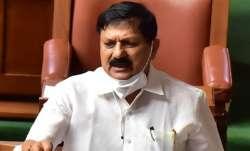 Karnataka Home Minister Araga Jnanendra.
