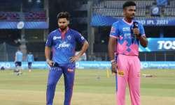 DC vs RR Live Score IPL 2021 Match 36: Rishabh Pant's Delhi meets Sanju Samson's Rajasthan in Abu Dh