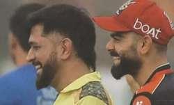 'Bromance for the ages': Virat Kohli embraces MS Dhoni after RCB vs CSK match in IPL 2021