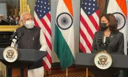 kamala harris pm modi meeting