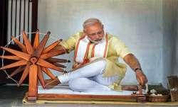 PRIME Minister Narendra Modi, Khadi products, Gandhi Jayanti, latest national news updates, khadi, p