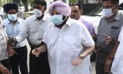 Former Chief Minister of Punjab Captain Amarinder Singh.