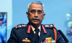 Indian Army chief General Manoj Mukund Naravane