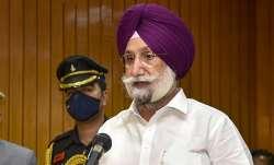 Punjab Deputy Chief Minister Sukhjinder Singh Randhawa