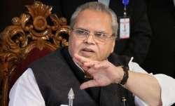 Former Jammu and Kashmir Governor Satya Pal Malik.