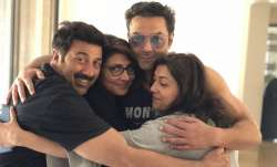 Happy Birthday Sunny Deol: Wishes pour in from brother Bobby, father Dharmendra, other celebs & fans
