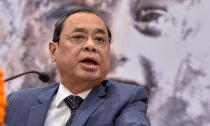 Chief Justice of IndiaRanjanGogoi