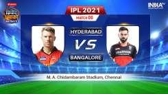 Live IPL 2021 Match SRH vs RCB: Watch Sunrisers Hyderabad vs Royal Challengers Bangalore Live Online